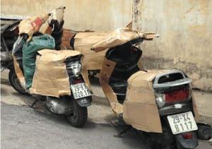 Dịch vụ gửi xe máy từ Sài Gòn đi Ra Hà Nội bằng tàu hỏa