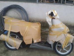 Giá cước gửi vận chuyển xe máy bằng tàu hỏa từ Hà Nội đi vào Sài Gòn
