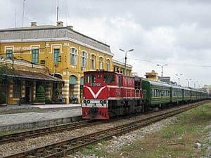 Gửi vận chuyển hàng hóa từ Sài Gòn đi ra Hải Phòng bằng đường sắt, tàu hỏa giá rẻ